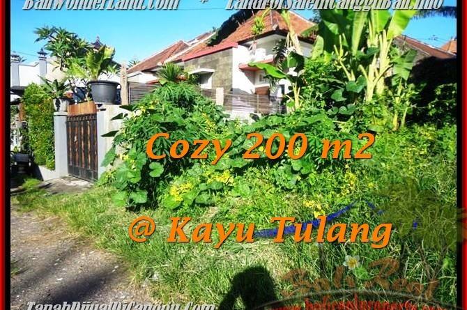 DIJUAL MURAH TANAH di CANGGU 200 m2 di Canggu Kayutulang