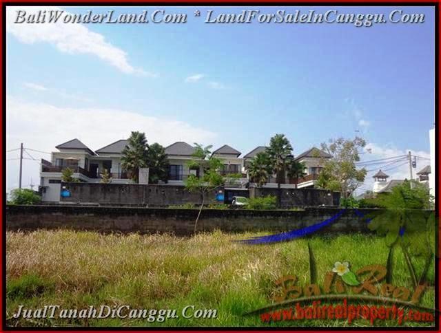 DIJUAL TANAH di CANGGU 831 m2 di Canggu Batu Bolong