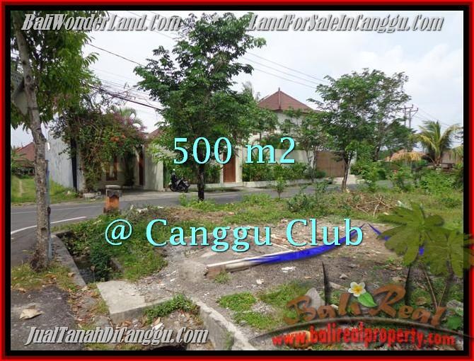 JUAL TANAH di CANGGU 500 m2 Lingkungan Villa