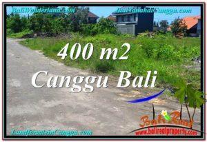 DIJUAL TANAH MURAH di CANGGU 400 m2 di Canggu Brawa