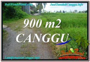 TANAH DIJUAL di CANGGU 900 m2 di Canggu Batu Bolong